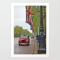 Entering Buckingham Palace Art Print