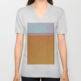 Fibonacci Sunset 1 Unisex V-Neck