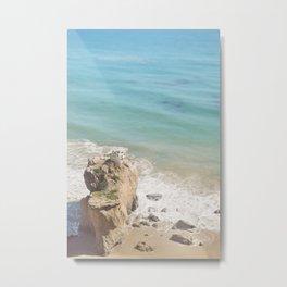 El Matador Beach, California Metal Print