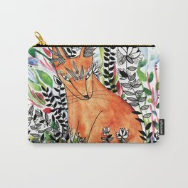 Tatoo fox Carry-All Pouch