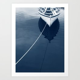 Row Row Row Your Boat Art Print