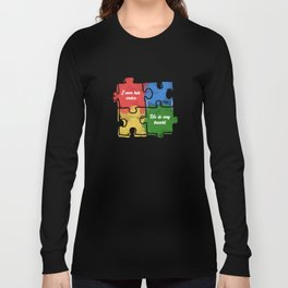 Autism Child Love Puzzle Asperger-Syndrome Gift Long Sleeve T-shirt