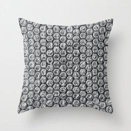 Bubble Wrap Pleasure Throw Pillow
