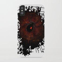 Black Widow (Signature Design) iPhone Case