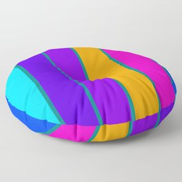 sTRIPES Colorful  Floor Pillow
