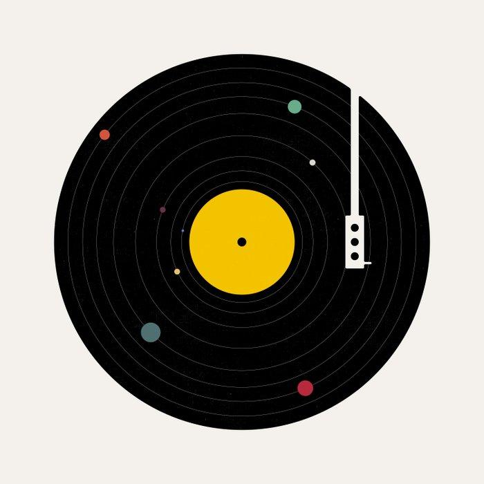 Music, Everywhere Duvet Cover