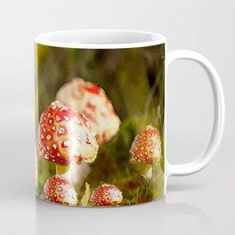 Beautiful but toxic - Fly agaric - Amanita - Autumn illustration - #society6 #buyart Coffee Mug