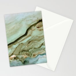 The Waves Come Crashing Stationery Cards