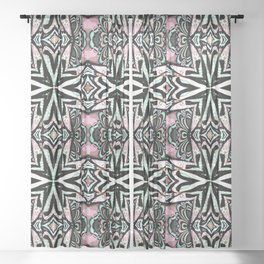 Tribal Chic Sheer Curtain