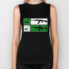 AK47 AR15 Riffle Adult_s NRA Cool Gun Defense Tee for Men Gun Biker Tank