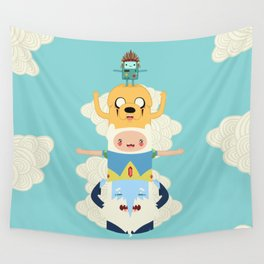 Adventure Totem Wall Tapestry