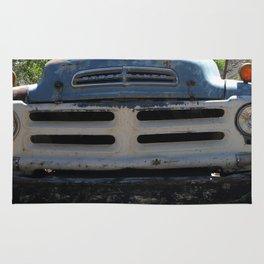 Studebaker, Studebaker Grill, Old Truck Rug