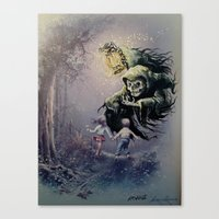 thegnarledbranch Canvas Prints featuring The Beckoning by TheGnarledBranch