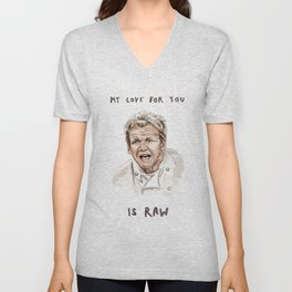 Gordon Ramsay - It's RAW Illustration Unisex V-Neck