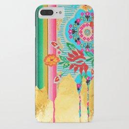 Gold Dipped Boho Serape Dream iPhone Case