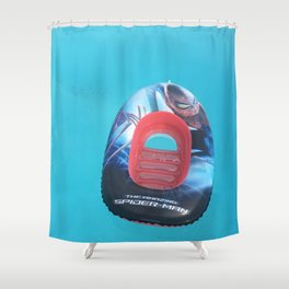 Surrealistic inflatable Shower Curtain