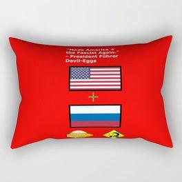 Made America 4 the Fascist Again Rectangular Pillow