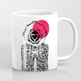 Yakuza Diver from Japan Coffee Mug