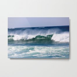 Big Waves Metal Print
