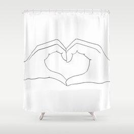 cœur Shower Curtain