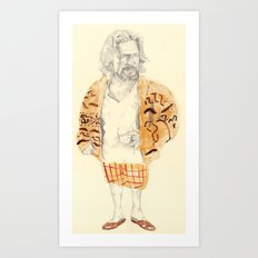 The Dude Art Print
