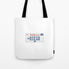 San Diego. Tote Bag
