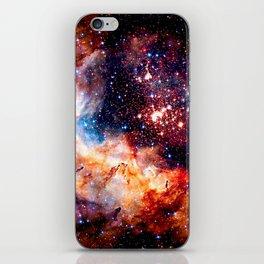 Cosmic Connection 2 galaxy space nebula stars universe iPhone Skin