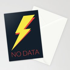 No Data Stationery Cards