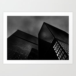 Downtown Toronto Fogfest No 14 Art Print