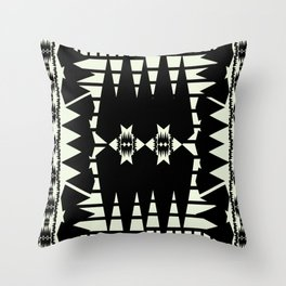 Microcosm Throw Pillow