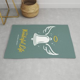 It's a Wonderful Life - Alternative Movie Poster Rug