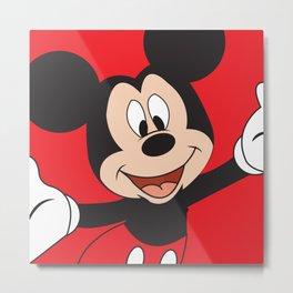 Mickey Mouse No. 5 Metal Print