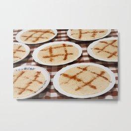 Portuguese food Metal Print