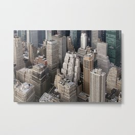 Up close and personal - NYC Metal Print