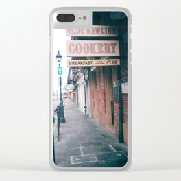 Nawlins Cookery Clear iPhone Case