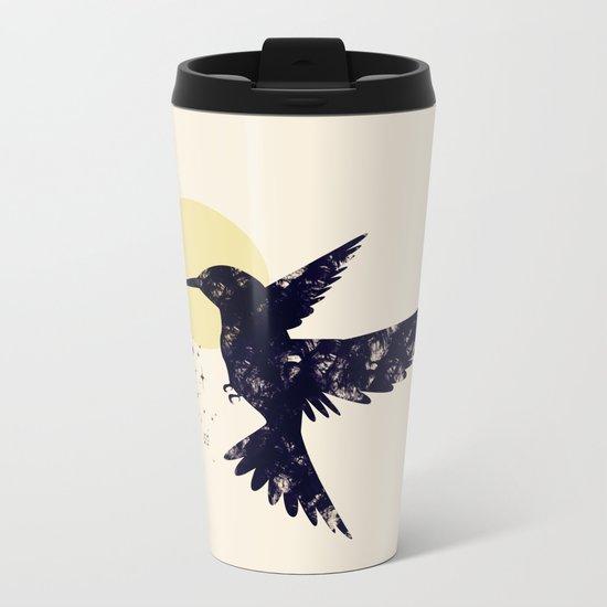 Bird X Metal Travel Mug