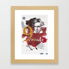 LUDWIG VAN BEETHOVEN Framed Art Print