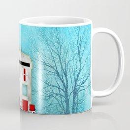 Tardis Santa Coffee Mug