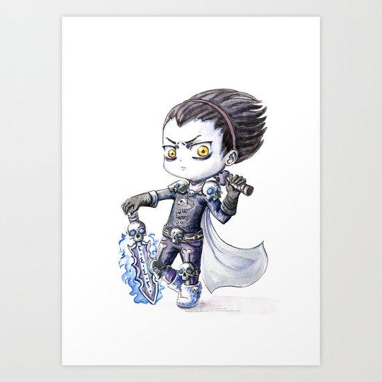Death Knight Art Print