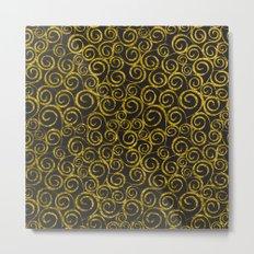 Festive curves Metal Print
