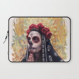 """Katrina"" - Skull girl Laptop Sleeve"