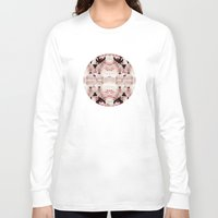 peonies Long Sleeve T-shirts featuring Peonies by Cloudylocks