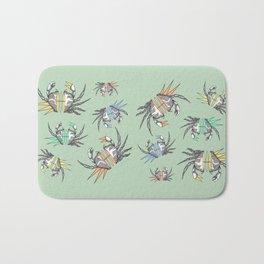 grab my crabs Bath Mat