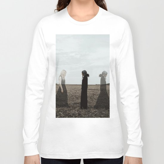 You can not escape from getting older.. Long Sleeve T-shirt