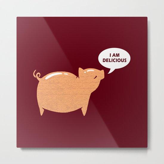 An Honest Meal Metal Print