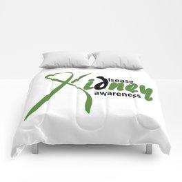 Kidney Disease Awareness Comforters