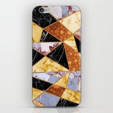 Abstract #458 Molten Metal & Marble iPhone & iPod Skin