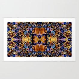 Psychedelic Water Art Print