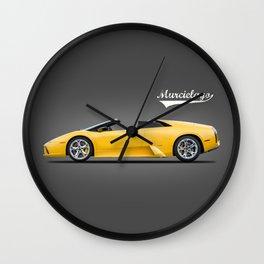 The Murcielago Wall Clock
