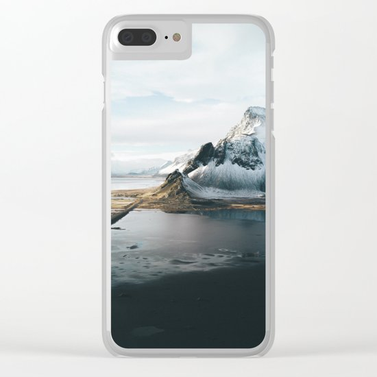 Iceland Adventures - Landscape Photography Clear iPhone Case